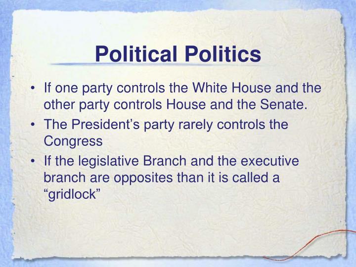 Political Politics