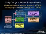 study design second randomization15