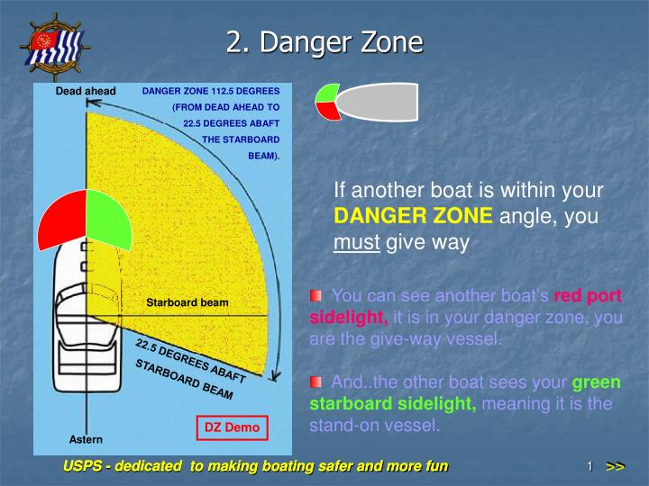 2 danger zone n.
