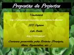 propostas de projectos11