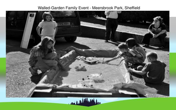 Walled-Garden Family Event - Meersbrook Park, Sheffield
