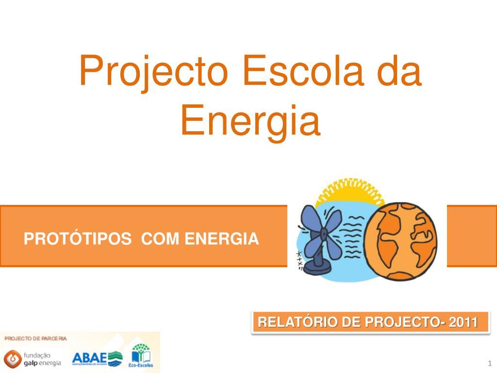 projecto escola da energia l.