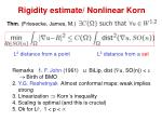 rigidity estimate nonlinear korn