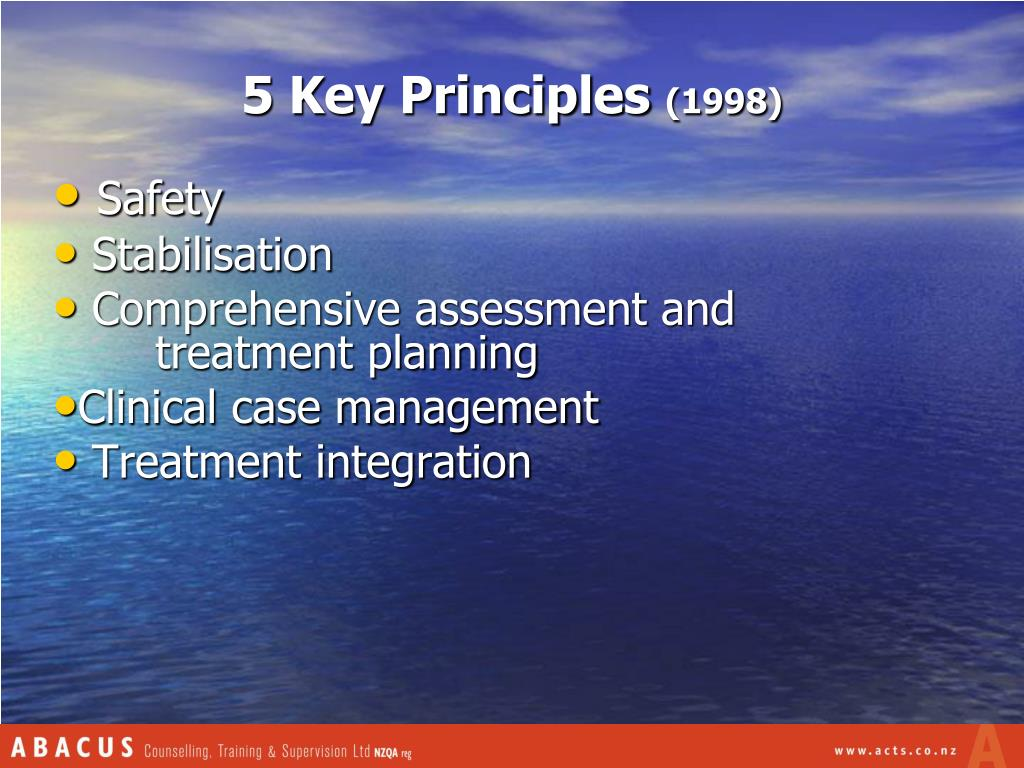 5 Key Principles