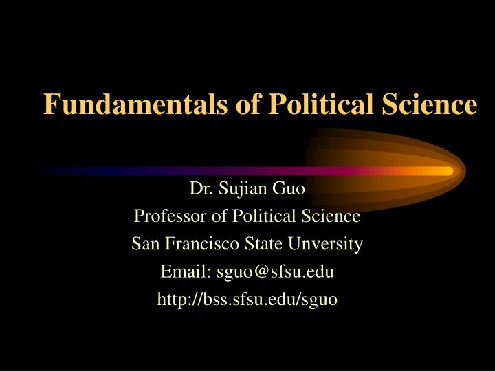 Ppt Fundamentals Of Political Science Powerpoint Presentation Free Download Id 1482407