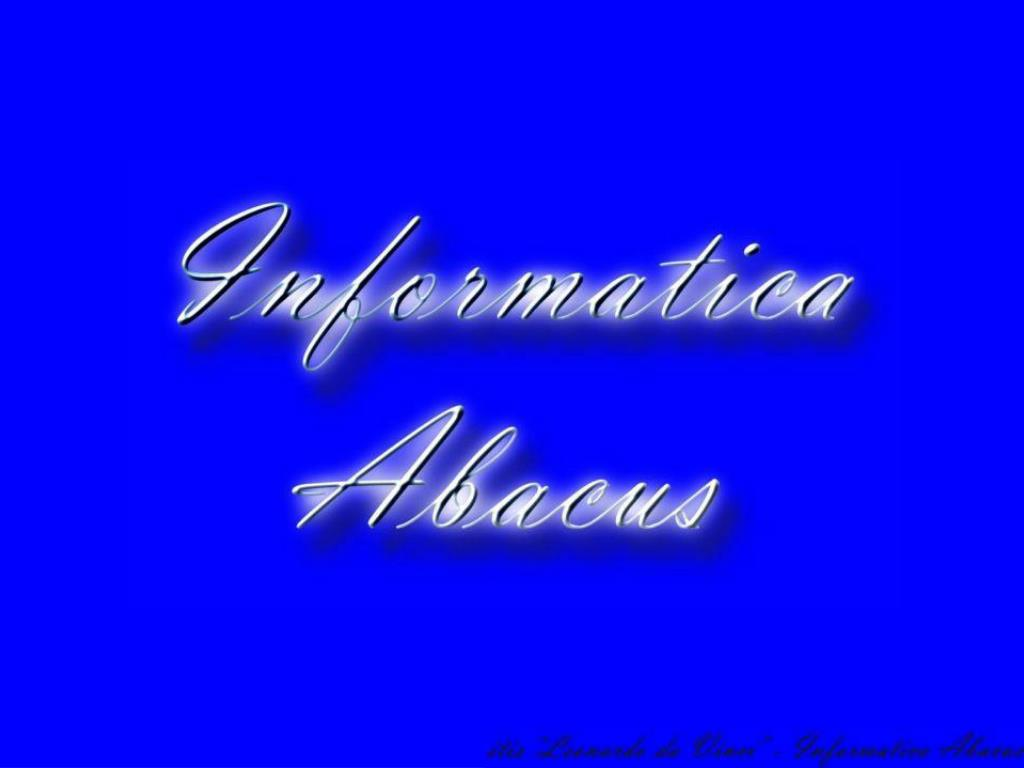 informatica abacus l.
