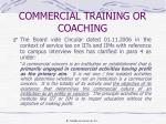commercial training or coaching2