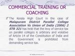 commercial training or coaching3