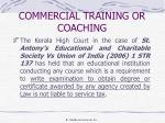 commercial training or coaching4