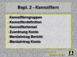 bspl 2 kennziffern