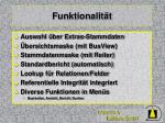 funktionalit t