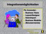 integrationsm glichkeiten