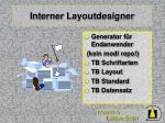 interner layoutdesigner