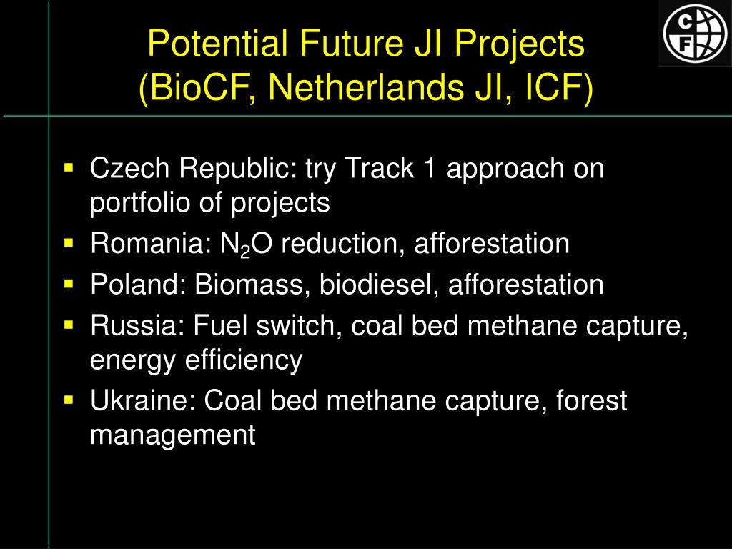 Potential Future JI Projects