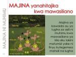 majina yanahitajika kwa mawasiliano