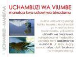 uchambuzi wa viumbe manufaa kwa ustawi wa binadamu