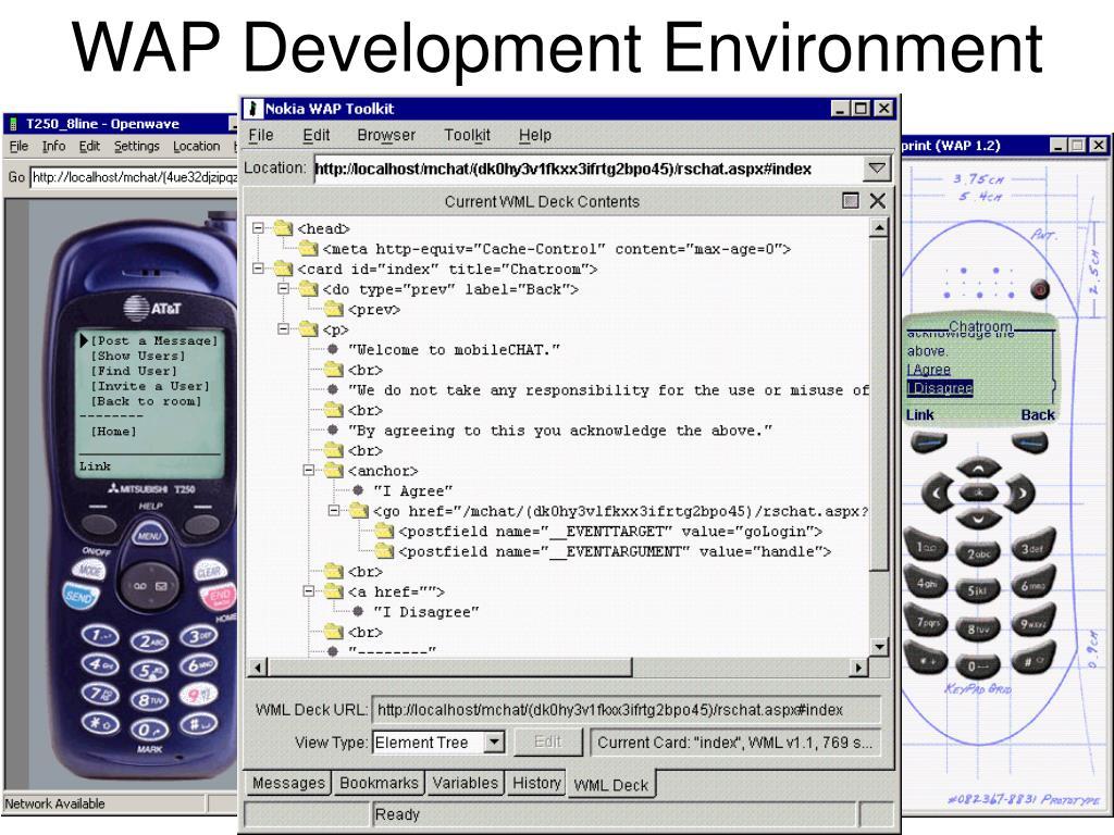 WAP Development Environment