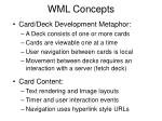 wml concepts