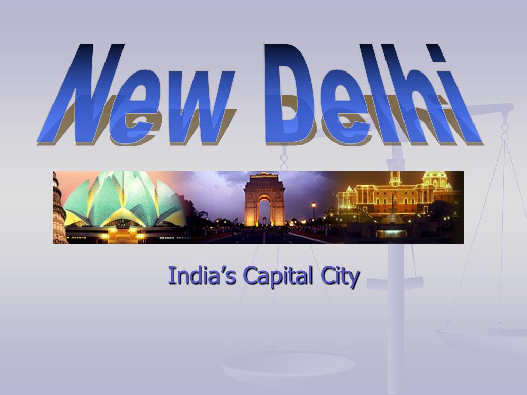 india s capital city l.