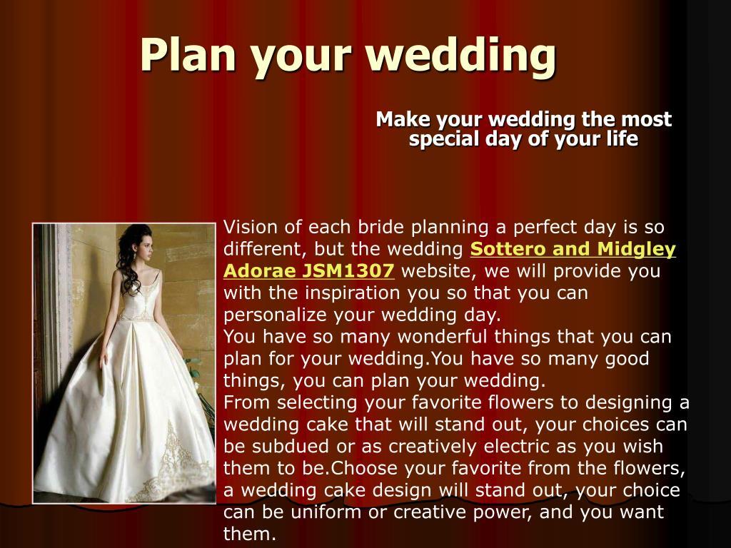 plan your wedding l.