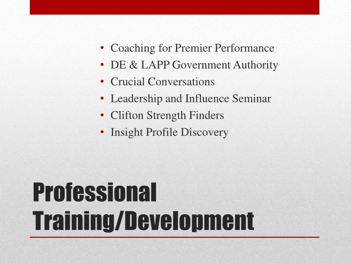 Coaching for Premier Performance