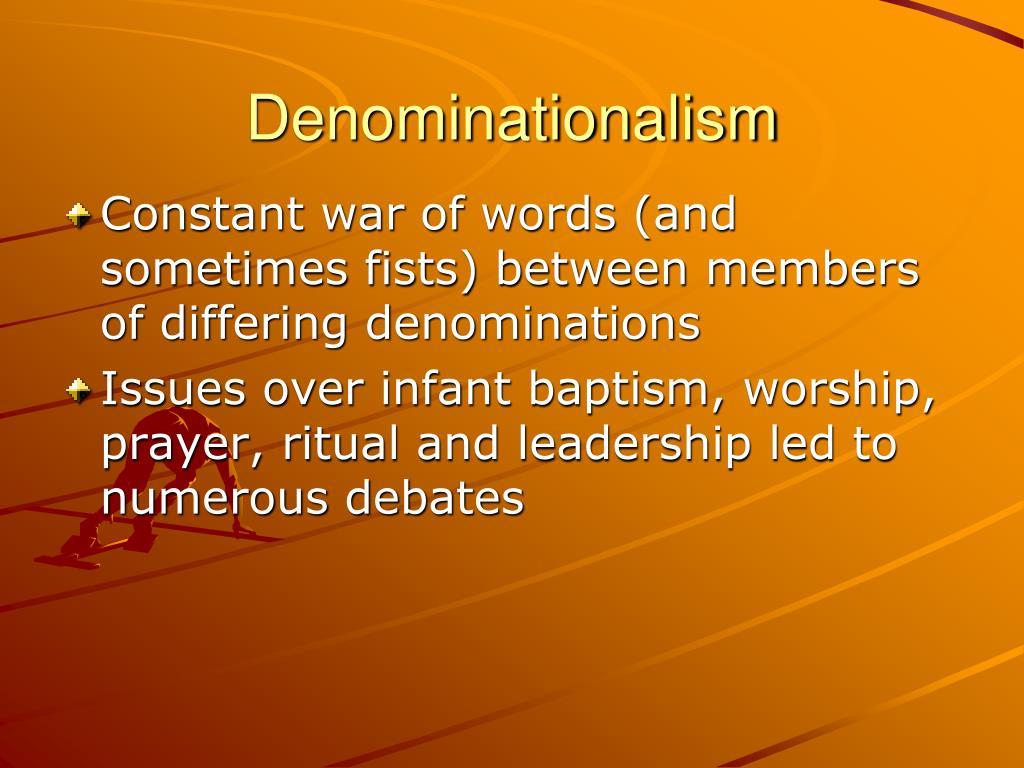 Denominationalism