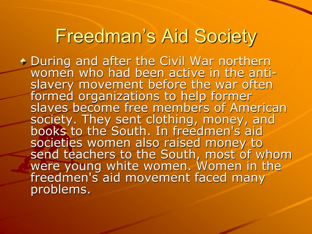 Freedman's Aid Society