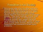 freedman s aid society