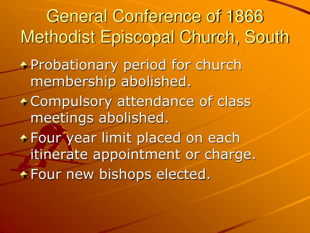 General Conference of 1866  Methodist Episcopal Church, South