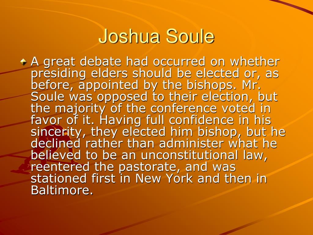 Joshua Soule