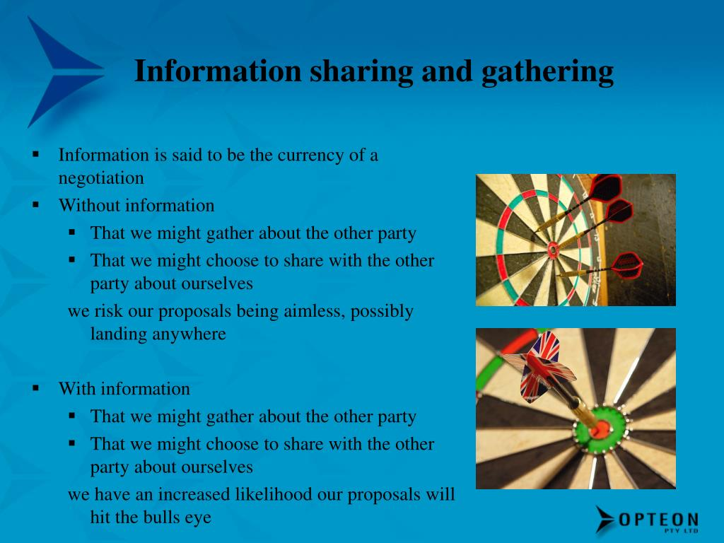 Information sharing and gathering