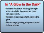 in a glow in the dark30