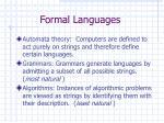 formal languages14