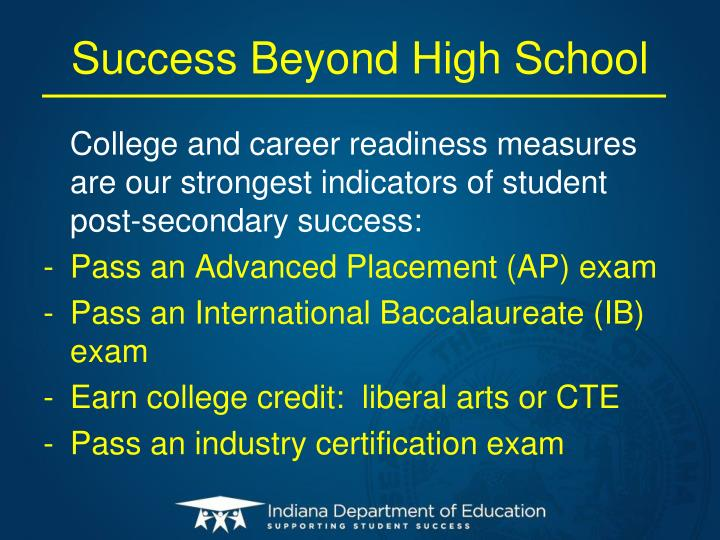 Success Beyond High School