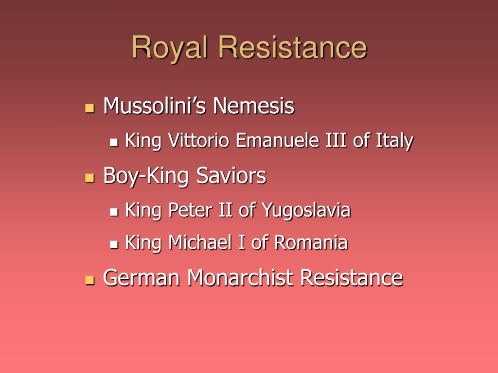 Royal Resistance