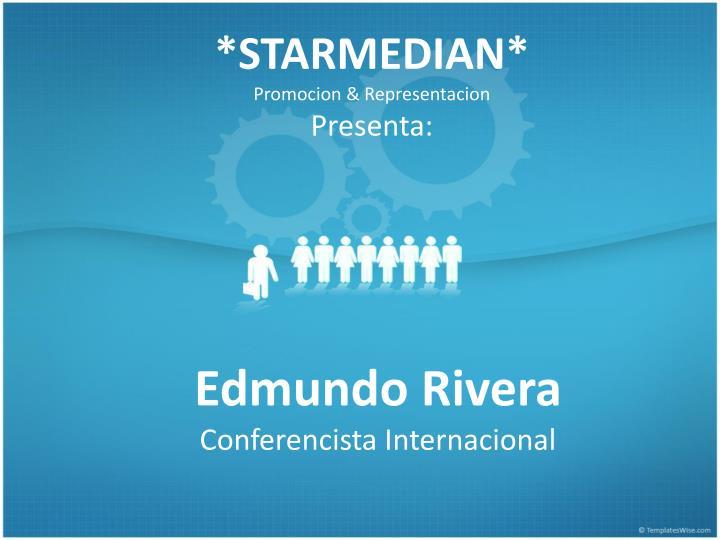 Starmedian promocion representacion presenta