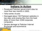 indians in action