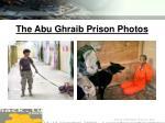 the abu ghraib prison photos