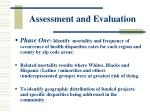 assessment and evaluation35