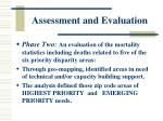 assessment and evaluation37