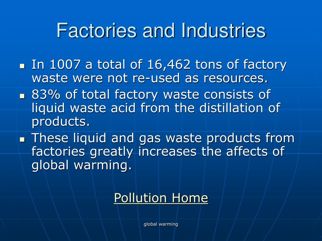 Factories and Industries
