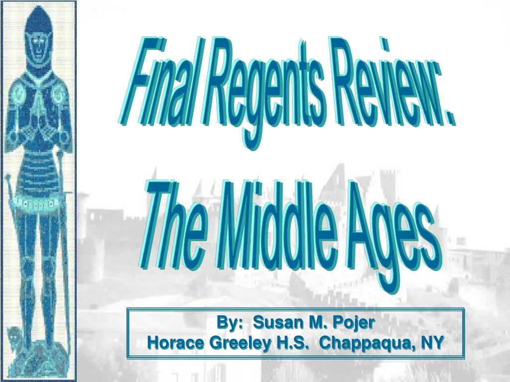 Final Regents Review: