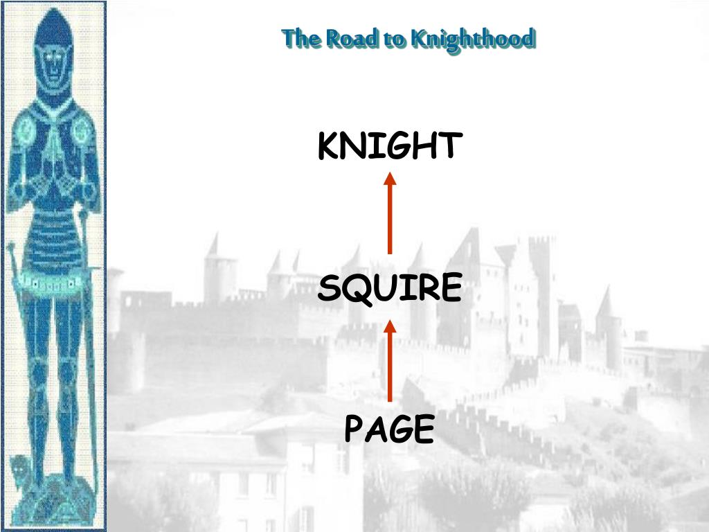 The Road to Knighthood