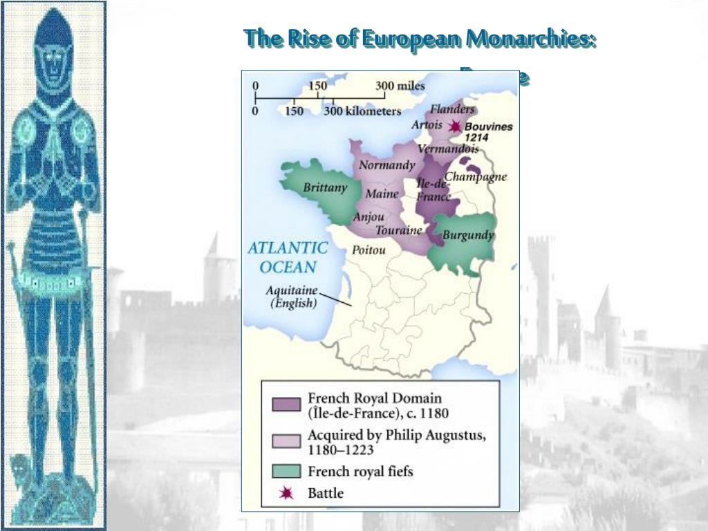 The Rise of European Monarchies: