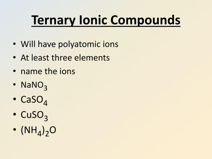 Ppt Aim How Do You Name Ionic Compounds Powerpoint Presentation