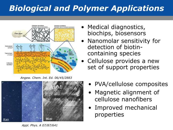 Medical diagnostics, biochips, biosensors