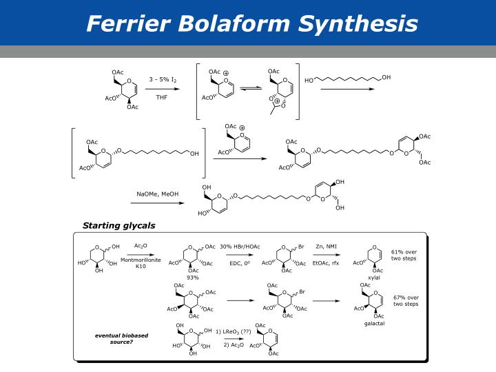 Ferrier Bolaform Synthesis