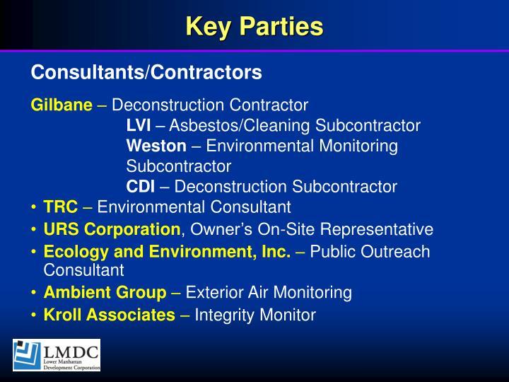 Key Parties