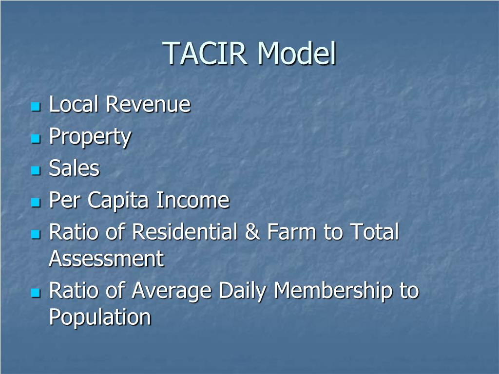 TACIR Model