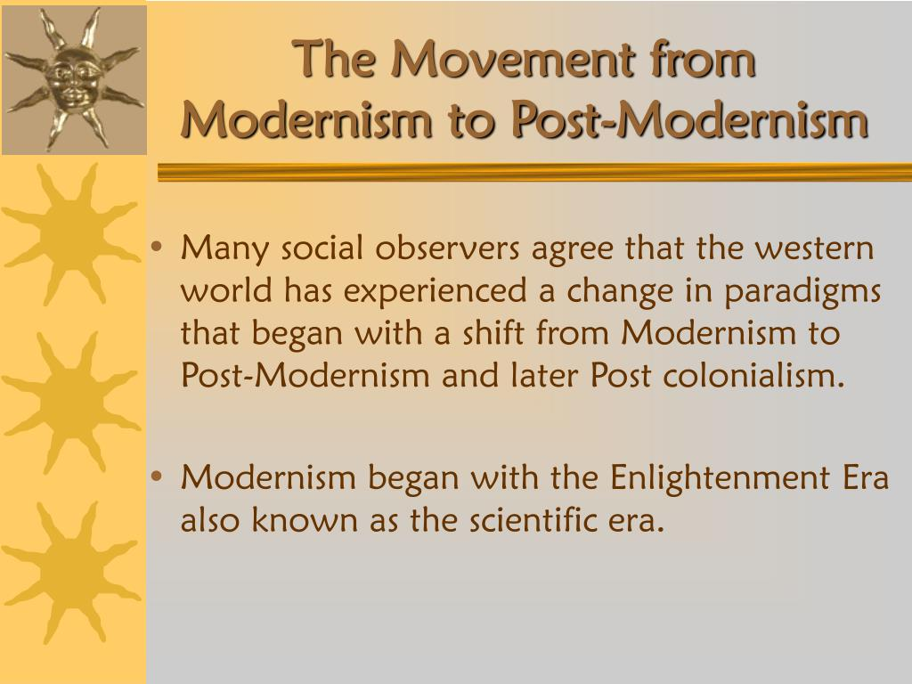 an essay on modernism and postmodernism Ending modernism: introduction to postmodern theory by jeanne willette | oct 18, 2013 | postmodern | postmodern theory introduction: modernism and post-modernism.